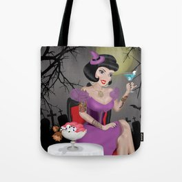 Witch Pin-up Tote Bag