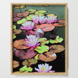 Lilypads Serving Tray