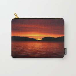 Sunset in Scandinavia #decor #society6 Carry-All Pouch