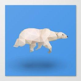 Polar Bear. Canvas Print