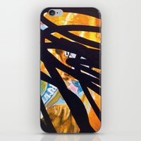carousel iPhone & iPod Skins featuring CAROUSEL by Brandon Neher