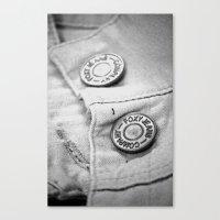 cassandra jean Canvas Prints featuring jean by McKenzie Nickolas