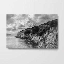 Seacoast near Alghero and Capo Caccia Metal Print