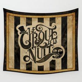 Le Cirque de la Nuit Wall Tapestry