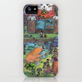 kingdom cat iPhone Case