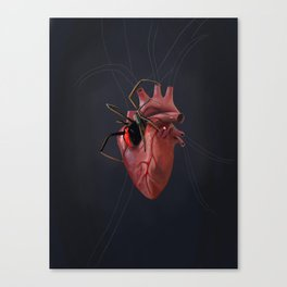 The Heart of a Loner Canvas Print