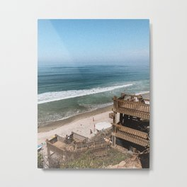 surf spot, california Metal Print