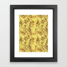Exotic Leopard Print Framed Art Print