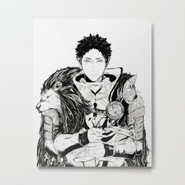 Knight Iwaizumi Metal Print