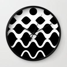 Light Waves Wall Clock