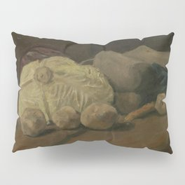 Still Life with Cabbage and Clogs Pillow Sham