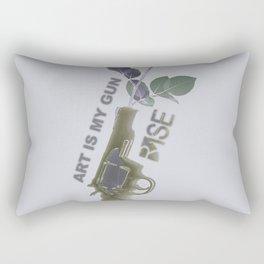 Rise Gun Control Rectangular Pillow