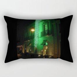 Green Cascade Rectangular Pillow