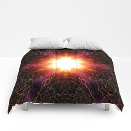 Afterimage of the light 03 Comforters