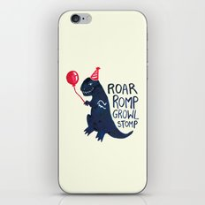 I am a Party Pooper iPhone Skin