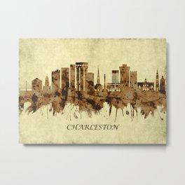 Charleston South Carolina Cityscape Metal Print