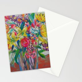 Big Bold Blooms Stationery Cards
