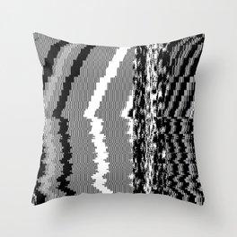 noisy pattern 06 Throw Pillow