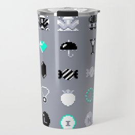 8-Bit Bling Travel Mug