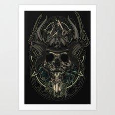 Man From Nowhere Art Print