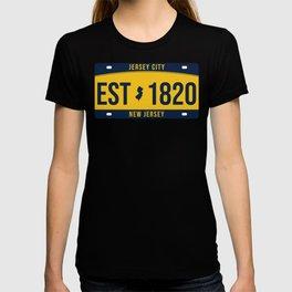 New Jersey State License Plate Souvenir T-shirt