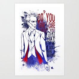 The Doctor (Dark Water 2) Art Print
