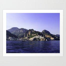 Jewel of the sea Art Print
