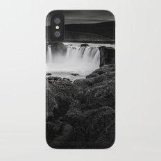 Godafoss Waterfall iPhone X Slim Case