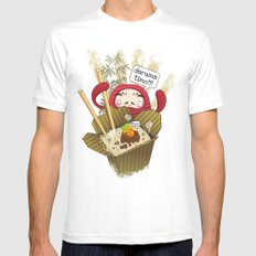Daruma Time!!! Mens Fitted Tee White MEDIUM