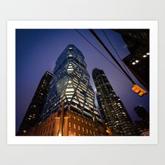 New York Future Art Print