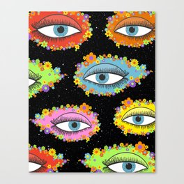 Flower Gaze Canvas Print