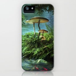 Enchanted Pond iPhone Case