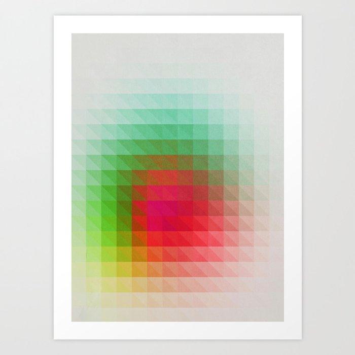 Triangular studies 02. Art Print