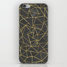 Ab Out Double Repeat Black iPhone & iPod Skin