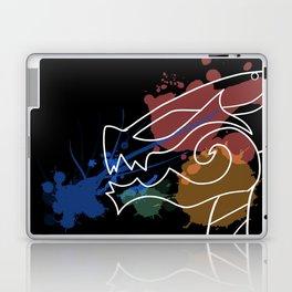 Black Dragon Art Laptop & iPad Skin