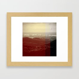 Serenity. Framed Art Print