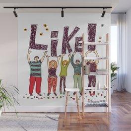 Like! Wall Mural