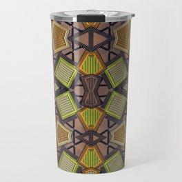 Shaman plaid Travel Mug
