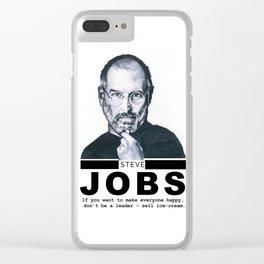 Steve Jobs Clear iPhone Case