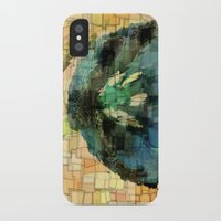 tulip iPhone & iPod Cases featuring Tulip by Aloke Design