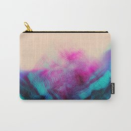 Dark Road Pink Hill Teal Valley Carry-All Pouch