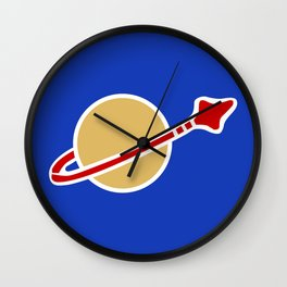 1980s Classic Lego Spaceman Wall Clock