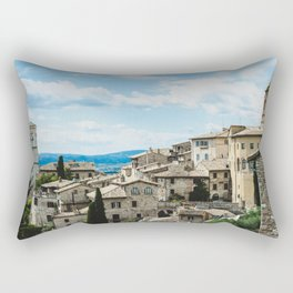 Stone houses Rectangular Pillow