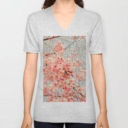 Awesome Blossom Unisex V-Neck