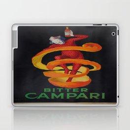 Vintage poster - Bitter Campari Laptop & iPad Skin