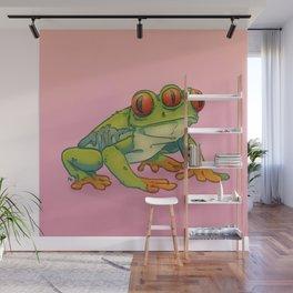 3 EYES FROG Wall Mural
