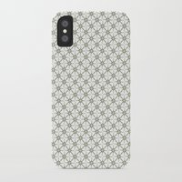 flower pattern iPhone & iPod Cases featuring Flower pattern by Yasmina Baggili