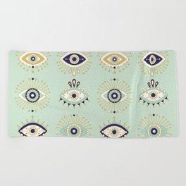 Evil Eye Collection Beach Towel