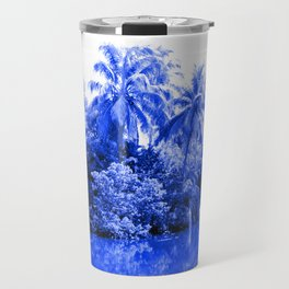 Florida in Blue Travel Mug
