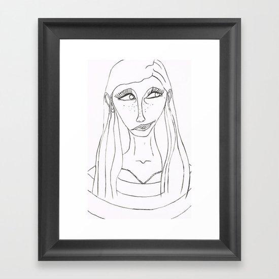 Malena Framed Art Print